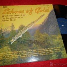 Discos de vinilo: ADRIAN BRETT ECHOES OF GOLD GOLDEN FLUTE LP 1979 WARWICK EDICION INGLESA ENGLAND UK FLAUTA. Lote 51467843