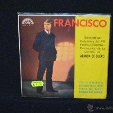 Discos de vinilo: FRANCISCO - TU SOMBRA +3 - EP. Lote 51473844