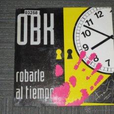Discos de vinilo: OBK - ROBARLE AL TIEMPO - MAXI - BLANCO Y NEGRO - MADE IN SPAIN - 1993 - 3 TEMAS - IBL -. Lote 51473906