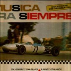 Discos de vinilo: LP MUSICA PARA SIEMPRE (INSTRUMENTALES ) : BOB MITCHELL, FRIEDEL BERLIPP, ROU ETZEL, LORD KLARINET. Lote 51474742