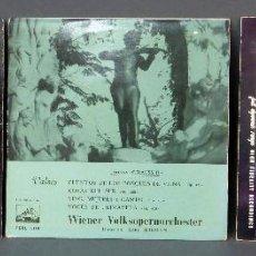 Discos de vinilo: 3 VALSES IMPERIALES VALSES VIENESES VOL III JOHANN STRAUSS II VINILO 45 RPM . Lote 51476766