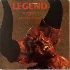 Discos de vinilo: BSO, LEGEND, JERRY GOLDSMITH (FLIMTRACX) LP - BSO - RIDLEY SCOTT. Lote 51482397