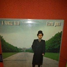 Discos de vinilo: LP ELTON JOHN - A SINGLE MAN . Lote 51483876