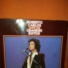 Discos de vinilo: LP - ROBERTO CARLOS - CANTA SUS GRANDES EXITOS. Lote 51483900