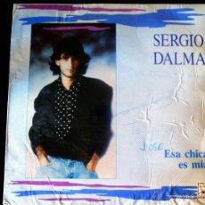 Discos de vinilo: VINILO LP DE - SERGIO DALMA - . ESA CHICA ES MIA - AÑO 1989. CON POSTER INTERIOR.. Lote 51485548