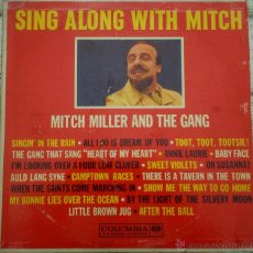 Discos de vinilo: LP ARGENTINO DE MITCH MILLER AND THE GANG AÑO 1960. Lote 51485564
