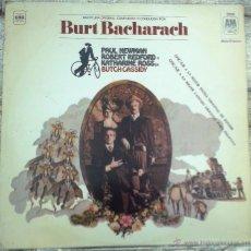 Discos de vinilo: LP ARGENTINO BSO BUTCH CASSIDY AÑO 1969. Lote 51485577