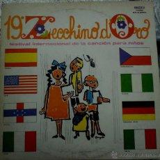 Discos de vinilo: LP ARGENTINO 19º ZECCHINO D´ORO AÑO 1976. Lote 51485604