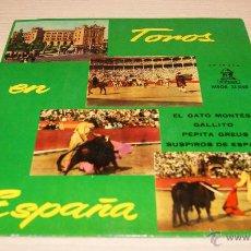 Discos de vinilo: TOROS EN ESPAÑA - PASODOBLES - ODEON - 1954. Lote 51487115