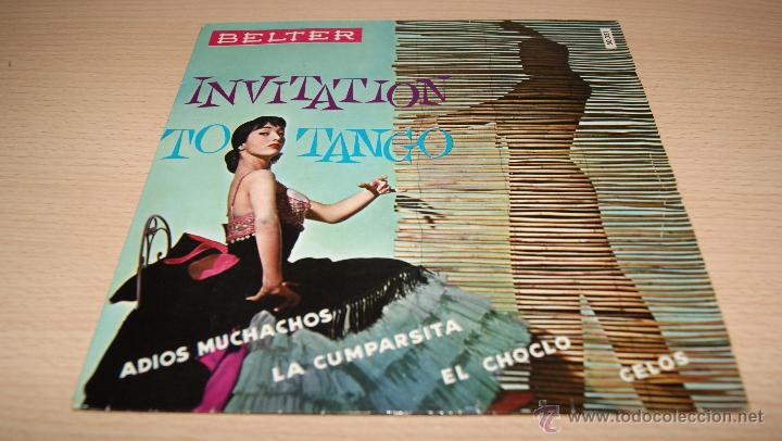 ROLAND PALETTE Y SU ORQUESTA - INVITATION TO TANGO - BELTER 1960 (Música - Discos de Vinilo - EPs - Orquestas)