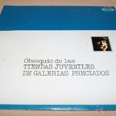 Discos de vinilo: TONY RONALD - 1973 - THE CARDS + SAND OF TIME - OBSEQUIO TIENDAS JUVENILES GALERIAS PRECIADOS. Lote 51487860