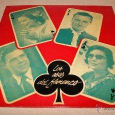 Discos de vinilo: LOS ASES DEL FLAMENCO Nº3 ODEON -1958 . Lote 51488236
