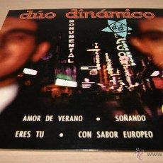 Discos de vinilo: DUO DINAMICO - LA VOZ DE SU AMO - 1963. Lote 51488273