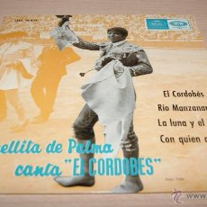 Discos de vinilo: ESTRELLITA DE PALMA CANTA EL CORDOBÉS. REGAL - EMI. 1965. Lote 51489684
