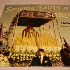 Discos de vinilo: SEMANA SANTA EN SEVILLA - SAETAS - SELECCIÓN Nº3 - 1958 LA VOZ DE SU AMO. Lote 51489811