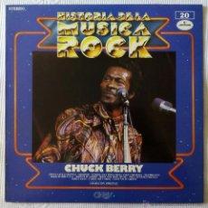 CHUCK BERRY, HISTORIA DE LA MUSICA ROCK 20 (MERCURY) LP