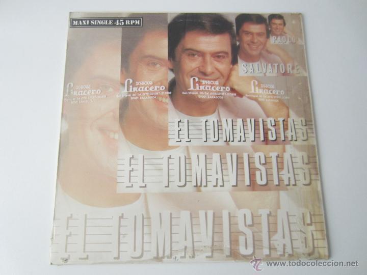 PAOLO SALVATORE - EL TOMAVISTAS (2 VERSIONES) 1986 SPAIN MAXI SINGLE (Música - Discos de Vinilo - Maxi Singles - Solistas Españoles de los 70 a la actualidad)