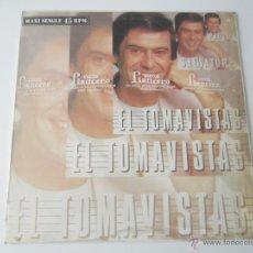 Discos de vinilo: PAOLO SALVATORE - EL TOMAVISTAS (2 VERSIONES) 1986 SPAIN MAXI SINGLE. Lote 51491249