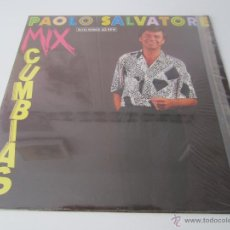 Discos de vinilo: PAOLO SALVATORE (MANOLO GAS) - MIX CUMBIAS 1988 SPAIN MAXI SINGLE. Lote 51491332