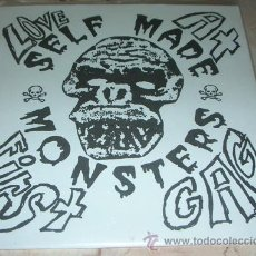 Discos de vinilo: SELF-MADE MONSTERS - LOVE AT FIRST GAG - EP 8 TEMAS GARAGE ROCK. Lote 51493398
