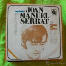 Discos de vinilo: SINGLE JOAN MANUEL SERRAT - PENELOPE - TIEMPO DE LLUVIA NOVOLA RECORDS 1969. Lote 51494622