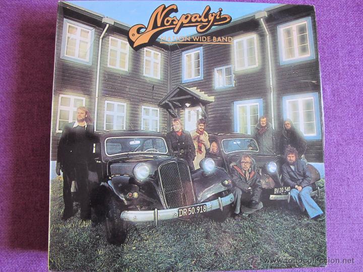 LP - NATION WIDE BAND (ROCK, FUNK / SOUL) - NOSPALGI (SPAIN, EUTERPE RECORDS 1979) (Música - Discos - LP Vinilo - Pop - Rock - Internacional de los 70)