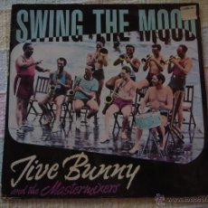 Discos de vinilo: JIVE BUNNY AND THE MASTERMIXERS (SWING THE MOOD) GERMANY MAXISINGLE 45RPM BCM RECORDS. Lote 51496244
