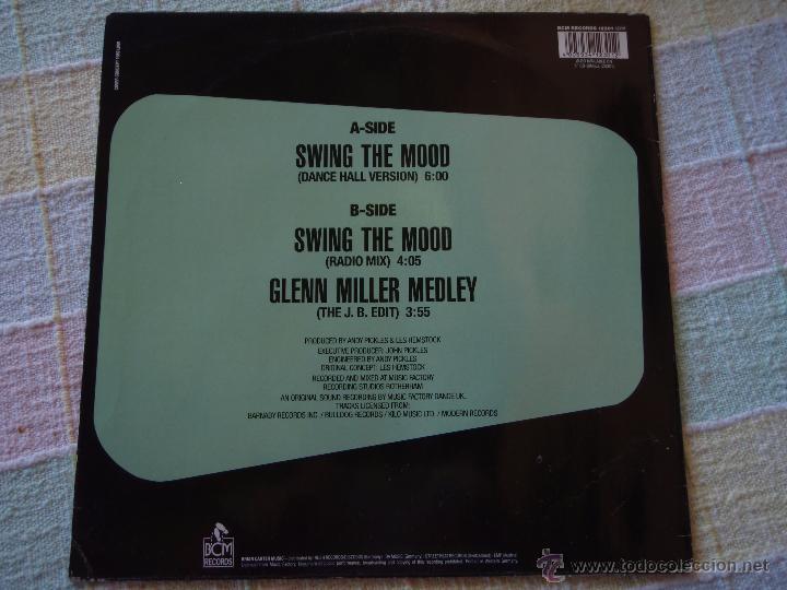 Discos de vinilo: JIVE BUNNY and THE MASTERMIXERS (SWING THE MOOD) GERMANY MAXISINGLE 45RPM BCM RECORDS - Foto 2 - 51496244