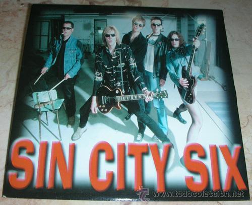 SIN CITY SIX - TONIGHT TONIGHT / TELL IT - SINGLE EDICION ALEMANA (Música - Discos - Singles Vinilo - Pop - Rock Extranjero de los 90 a la actualidad)