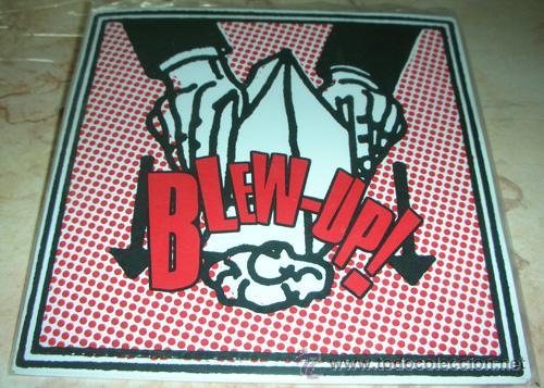 BLEW-UP! - ON FIRE + 2 - EP GARAGE ROCK (Música - Discos - Singles Vinilo - Pop - Rock Extranjero de los 90 a la actualidad)