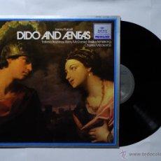 Discos de vinilo: DIDO AND AENEAS - HENRY PURCELL - CLÁSICA - LP VINILO - 1981. Lote 51499452