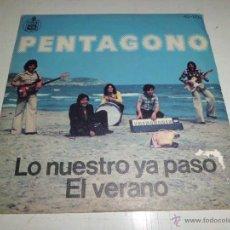 Discos de vinilo: PENTAGONO - LO NUESTRO YA PASO . Lote 51503711