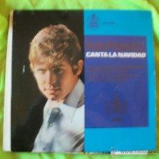 Discos de vinilo: RAPHAEL CANTA LA NAVIDAD. LA CANCIÓN DEL TAMBORILERO EP 1965. Lote 51505218