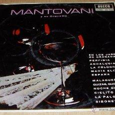 Discos de vinilo: MANTOVANI Y SU ORQUESTA. CITA CON LOS LATINOS 1.967. Lote 27279204