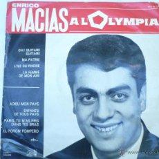 Discos de vinilo: LP ENRICO MACIAS RECITAL AL OLYMPIA, 1964. Lote 51512700