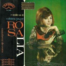 Discos de vinilo: ROSALIA EP SELLO ZAFIRO AÑO 1965 EDITADO EN ESPAÑA. Lote 51513313