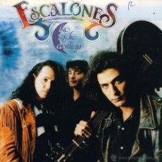 Discos de vinilo: ESCALONES - LA NOCHE CONTIGO / CAMBIO DE BAR (SINGLE PROMO ESPAÑOL DE 1992). Lote 51514993