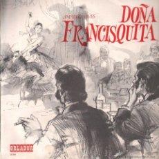 Discos de vinilo: DOÑA FRANCISQUITA LP. Lote 51516102