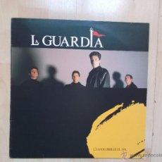 Discos de vinilo: LA GUARDIA - CUANDO BRILLE EL SOL. Lote 51518259