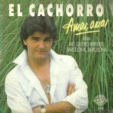 Discos de vinilo: EL CACHORRO EP SELLO PERFIL EDITADO EN ESPAÑA AÑO 1987. Lote 51519566
