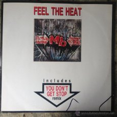 Discos de vinilo: M.B. - FEEL THE HEAT . MAXI SINGLE . 1991 ITALY. Lote 51521934