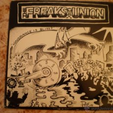 Discos de vinilo: LP. THE FREAKS UNION + WHIZZWOOD. EDICION LIMITADA 1000 COPIAS.. Lote 51527201