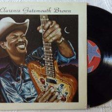 Discos de vinilo: CLARENCE GATEMOUTH BROWN, BLACKJACK (EDIGSA 1980) LP ESPAÑA. Lote 51528020