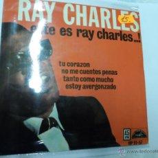 Discos de vinilo: RAY CHARLES. Lote 51528099