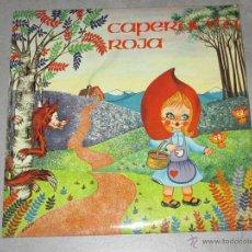 Discos de vinilo: CAPERUCITA ROJA - EMI / ODEON 1972 - SINGLE - IB. Lote 51529644