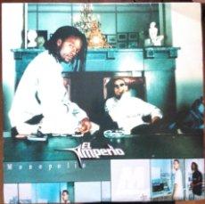Discos de vinilo: EL IMPERIO -MONOPOLIO 2LP 1999 ZONA BRUTA -HIP HOP EN ESPAÑOL COLABORACIONES DE ARI Y LA LA MALA. Lote 51536945