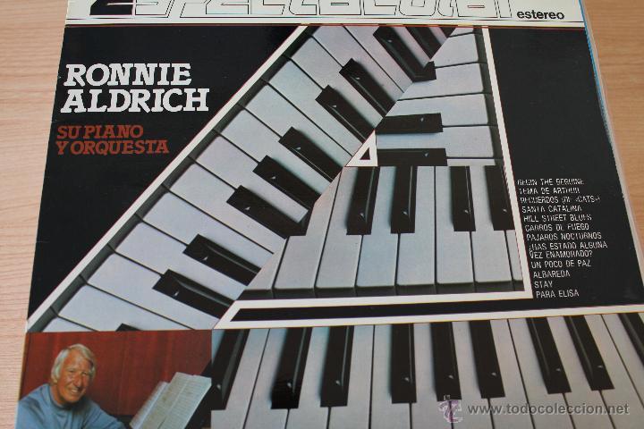 1 LP RONNIE ALDRICH SU PIANO Y ORQUESTA - COLUMBIA - 1982 (Música - Discos - LP Vinilo - Orquestas)
