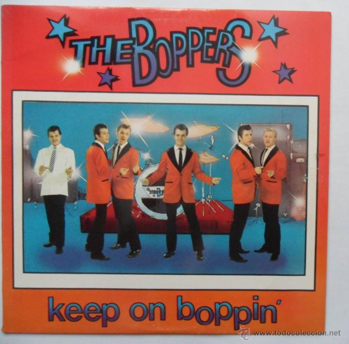 THE BOPPERS - KEEP ON BOPPIN' (SOUND OF SCANDINAVIA 1979) (Música - Discos de Vinilo - Maxi Singles - Rock & Roll)
