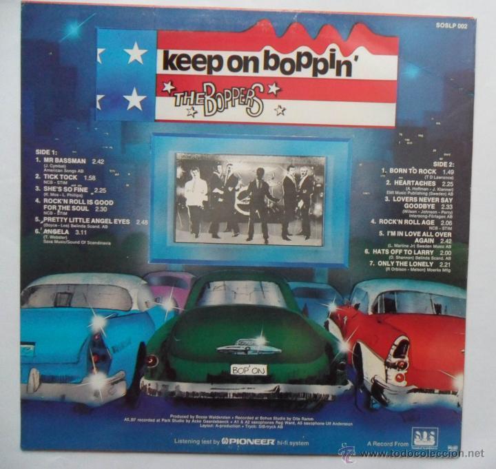 Discos de vinilo: The Boppers - Keep On Boppin' (Sound Of Scandinavia 1979) - Foto 2 - 51541611
