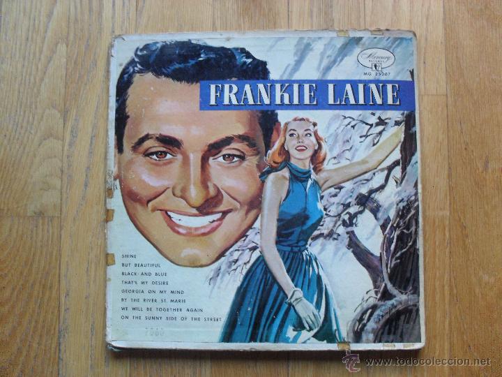 FRANKIE LAINE, FAVOURITES BY THE RIVER ST MARIE, MERCURY, 1949 10 PULGADAS (Música - Discos de Vinilo - EPs - Funk, Soul y Black Music)